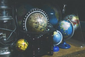 Collection of globes