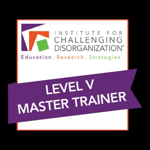Challenging Disorganization Master Trainer